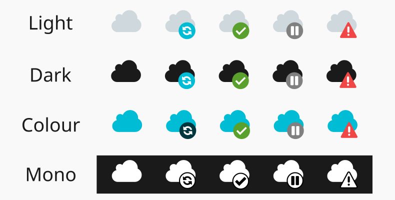 Large Icon In System Tray - Synology Cloud Station - Support