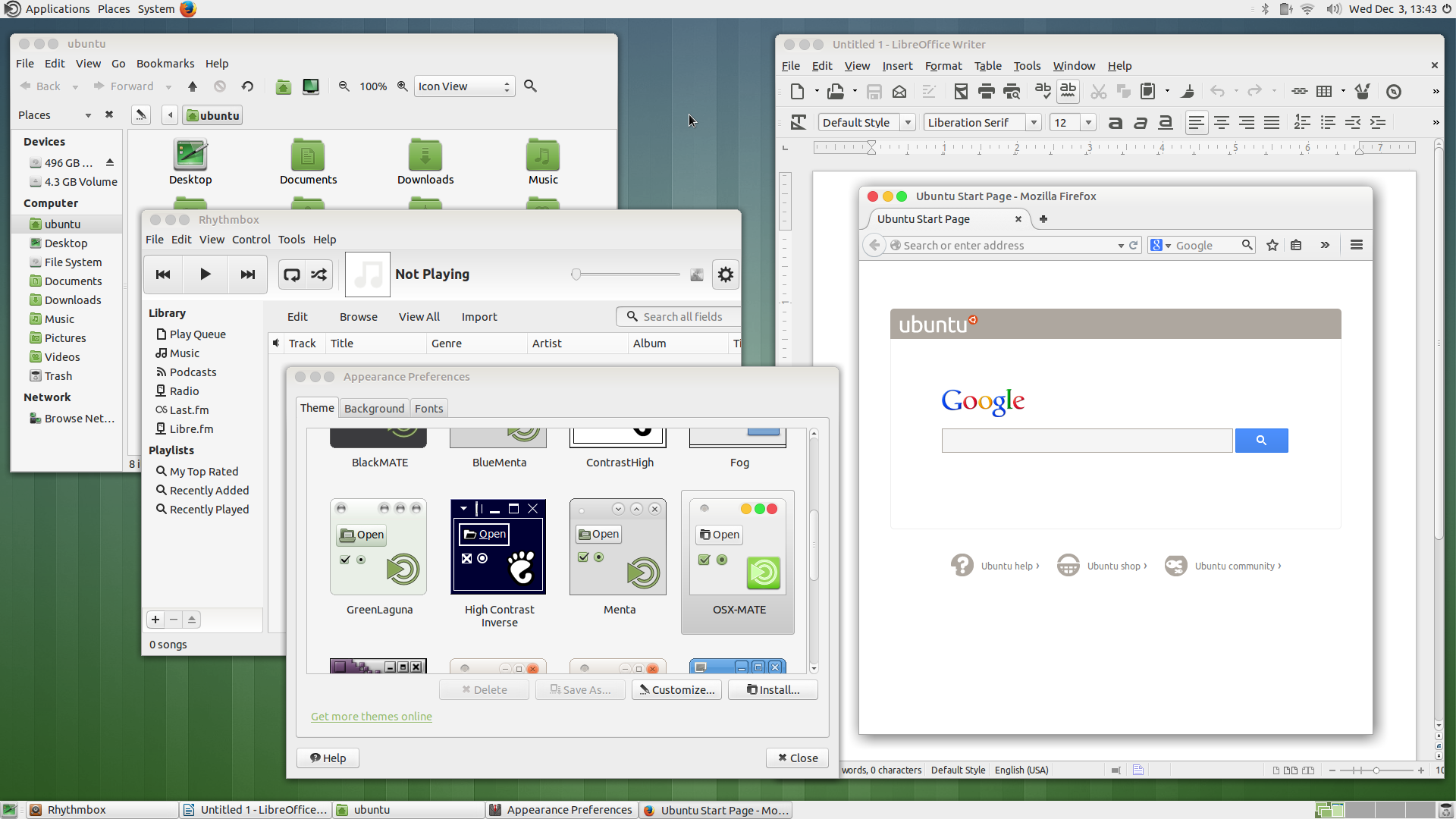 OSX-MATE Theme for Ubuntu MATE - Artwork - Ubuntu MATE Community