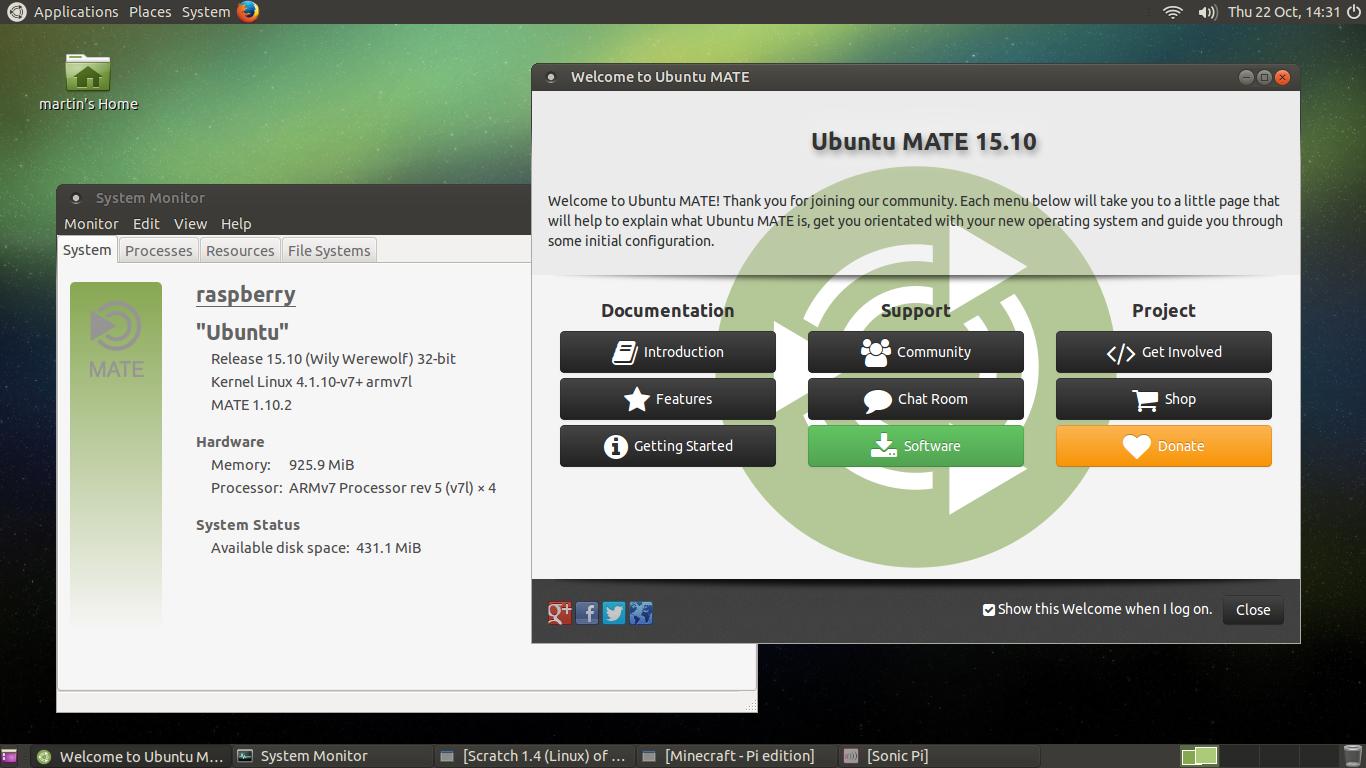 Ubuntu MATE 15 10 for the Raspberry Pi 2 - Raspberry Pi