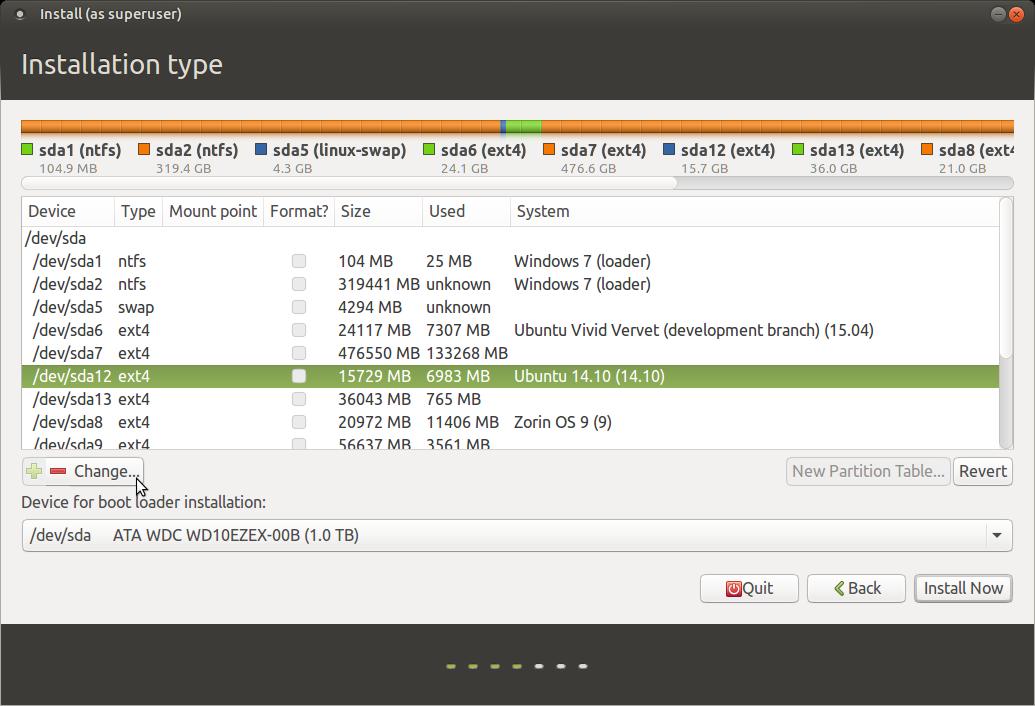 Ubuntu at howtoforge.com linux tutorials.