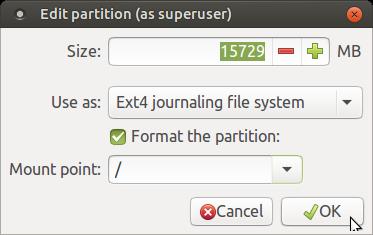 Install Ubuntu (Mate) using
