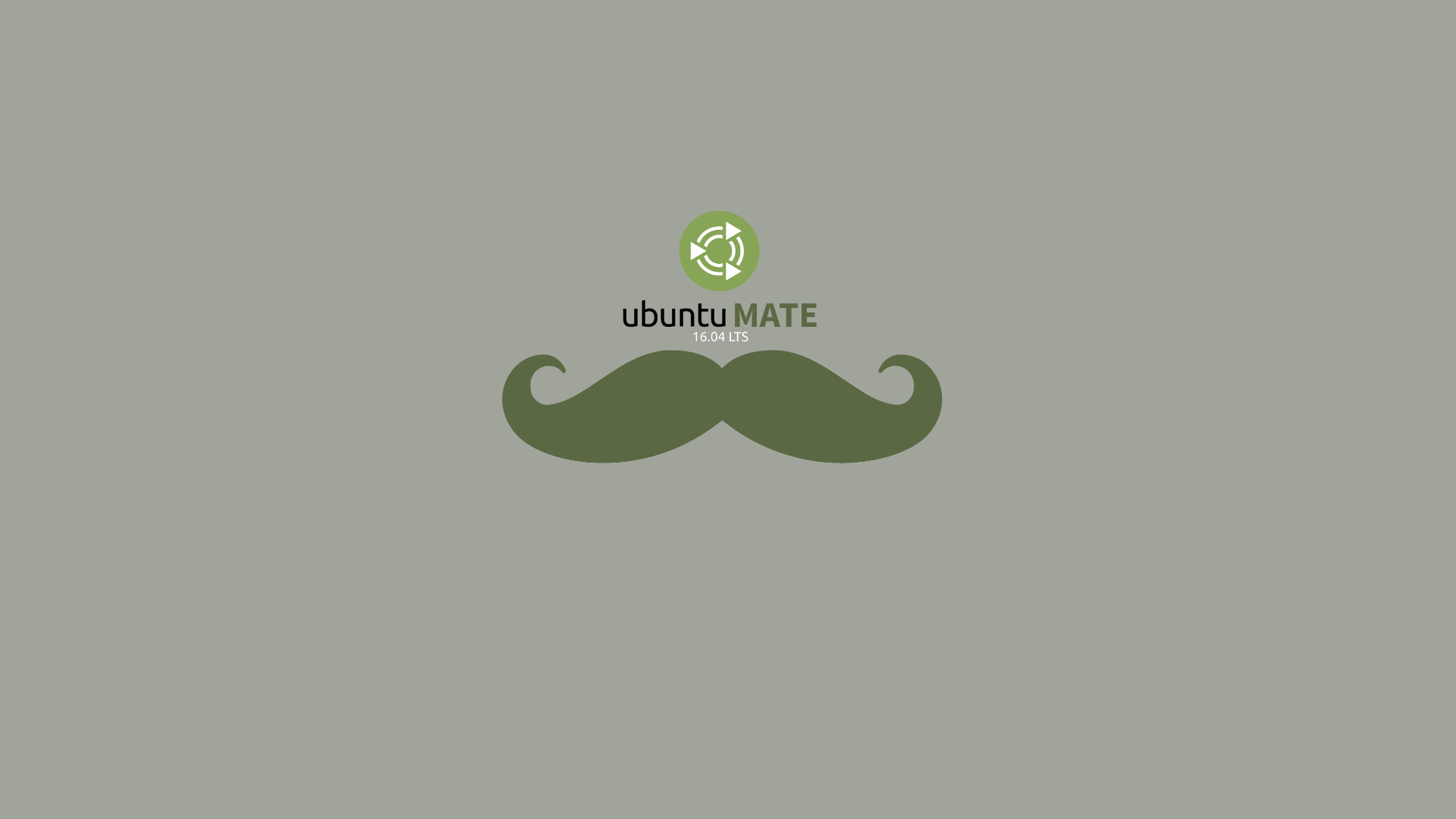 Ubuntu 16.04 LTS Mustache Wallpaper