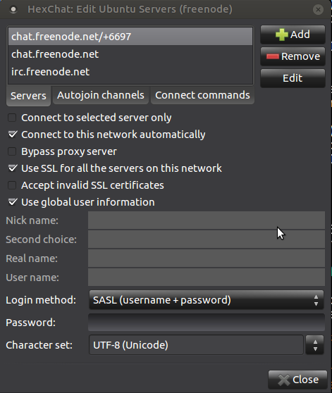How to safely use Hexchat and other IRC clients? - Support