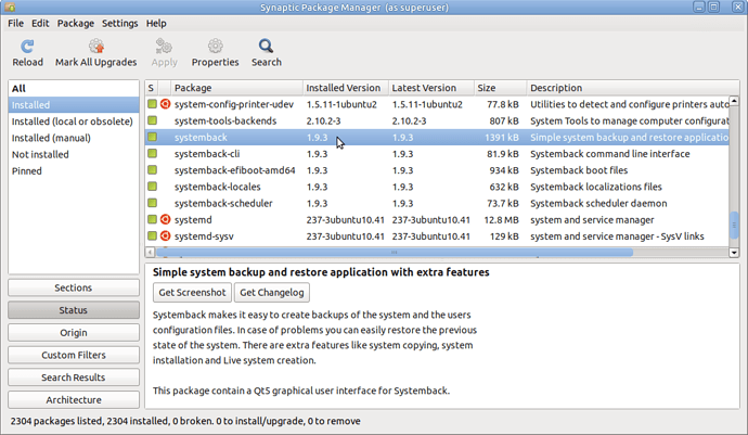 systemback_18.04.4_synaptic