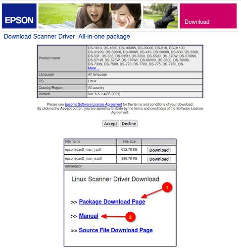 Epson - f scanner driver download