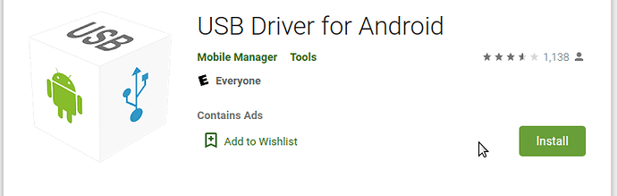 USB Driver by Mobile Manager