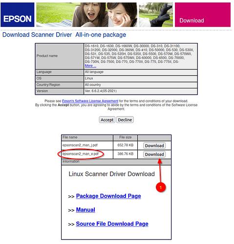 Epson - d scanner driver download