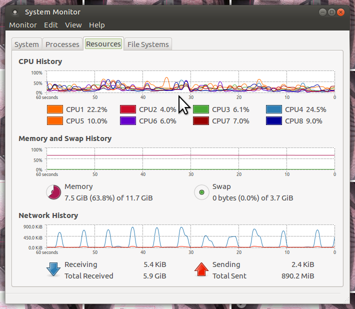 pognuti smrt propis  What does your RAM idle at? - Multimedia Showcase - Ubuntu MATE Community