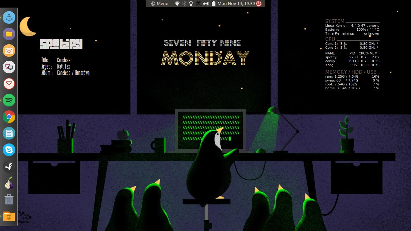 A new user's desktop :) - Multimedia Showcase - Ubuntu MATE