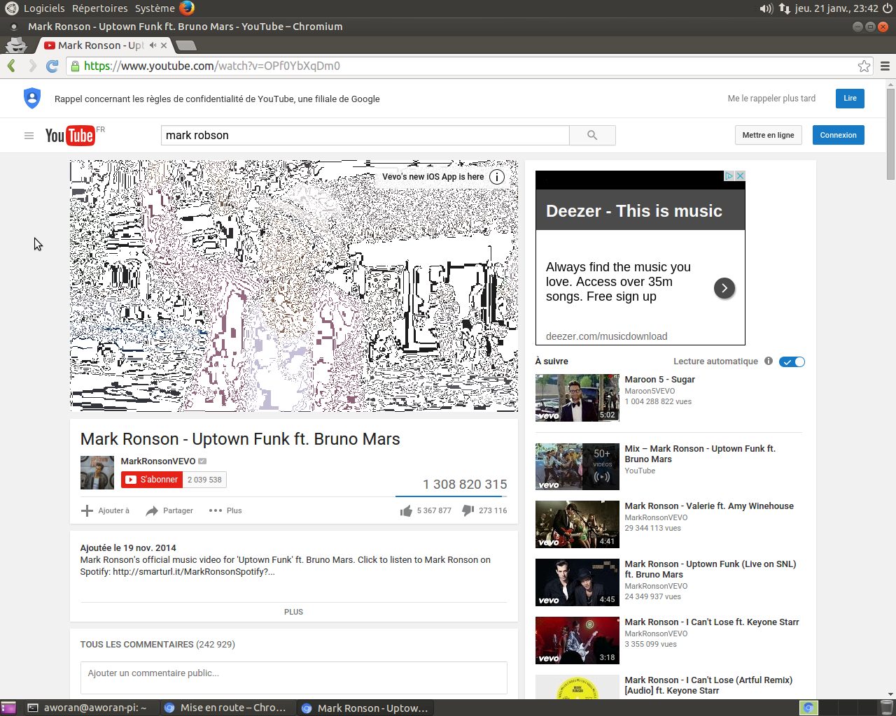 Solved] - Bug report - Chromium html5 video rendering on ubuntu mate