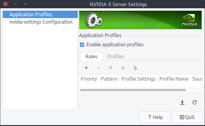 How can I disable Nvidia Graphics or Use the Nvidia X server