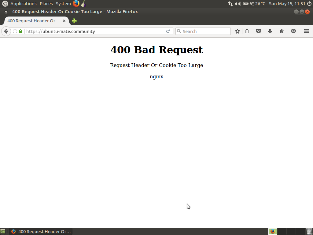 how to get rid of 400 bad request