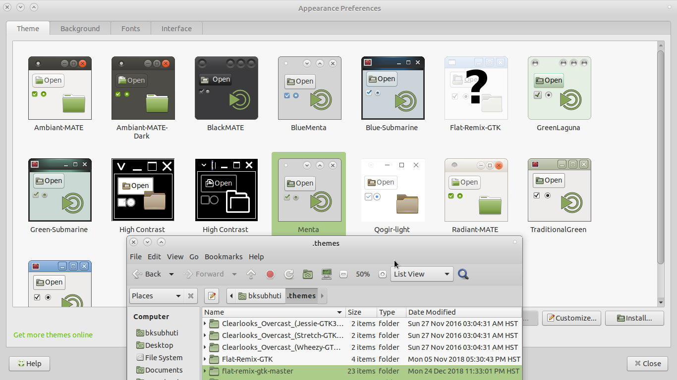 Are gtk3 themes supported yet? - Support & Help Requests - Ubuntu