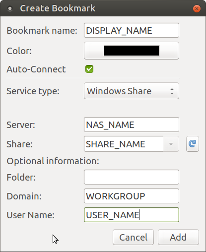 SMB network drive never shows in Firefox file picker
