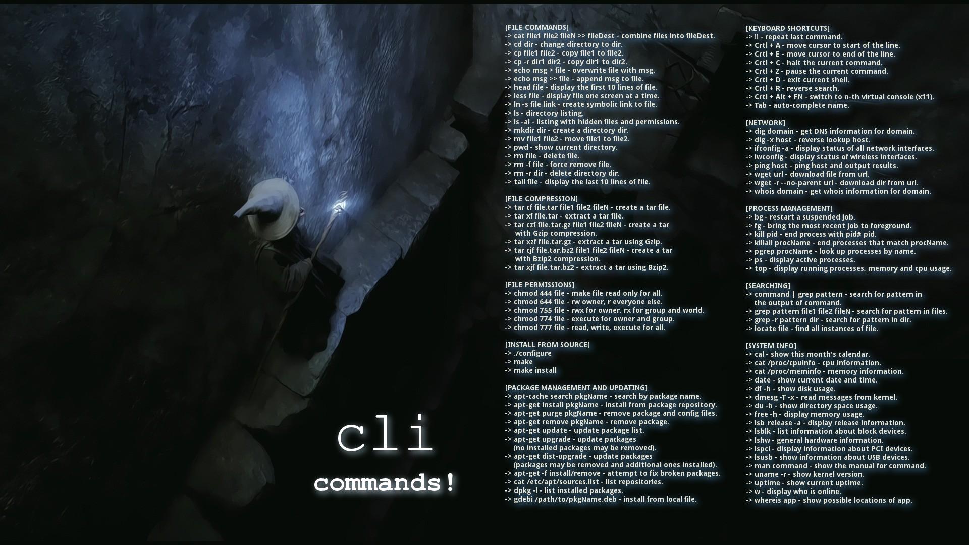 Wallpaper Gandalf And The Cli Artwork Ubuntu Mate