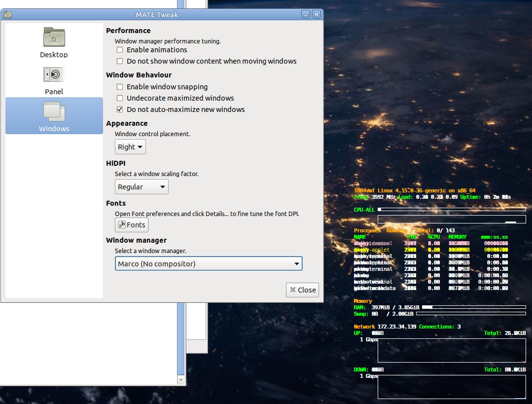 Conky Window Type 'override' - Development Discussion - Ubuntu MATE