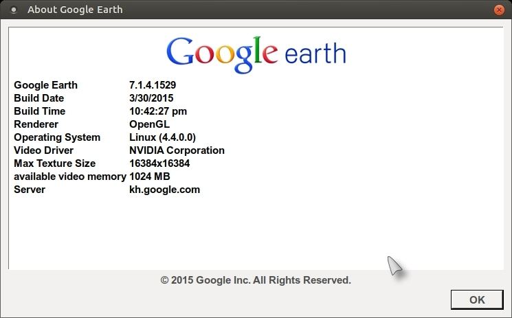 install google earth linux