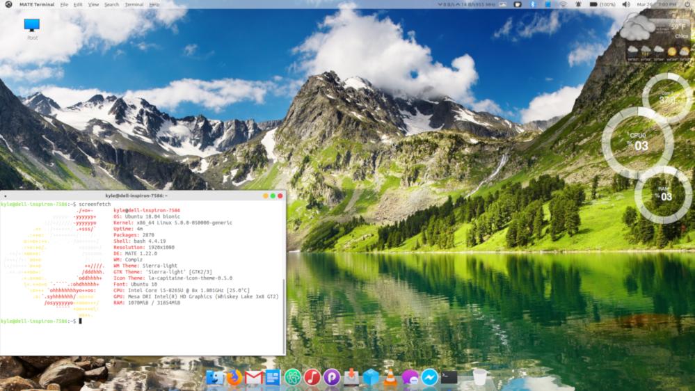 My OS X wannabe desktop - Screenshots - Ubuntu MATE Community