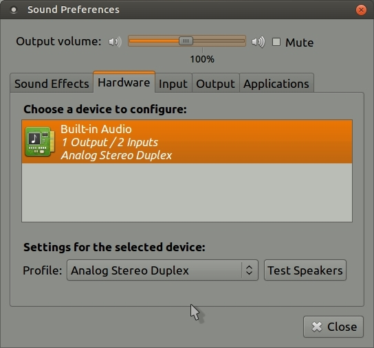 UM16 04 sound settings do not keep user inputs when rebooting