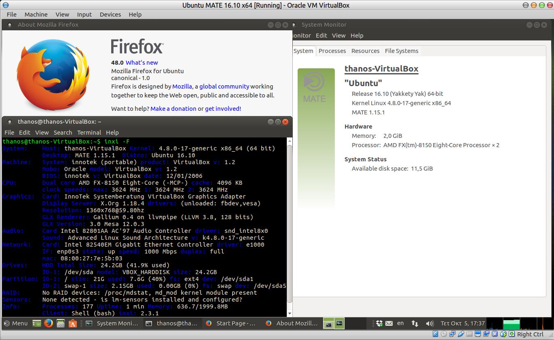 Ubuntu MATE 16 10 has firefox 48, is that normal? - Development