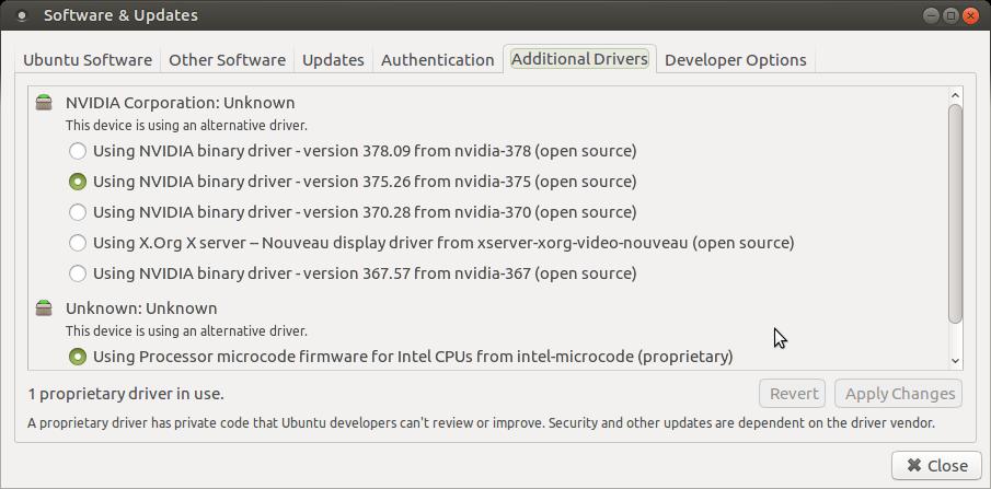 where are drivers stored in ubuntu