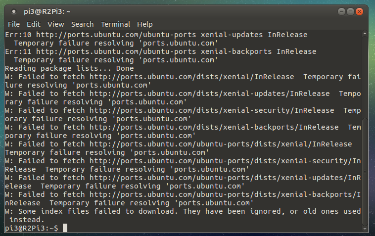 Updating mate problems raspberry pi ubuntu