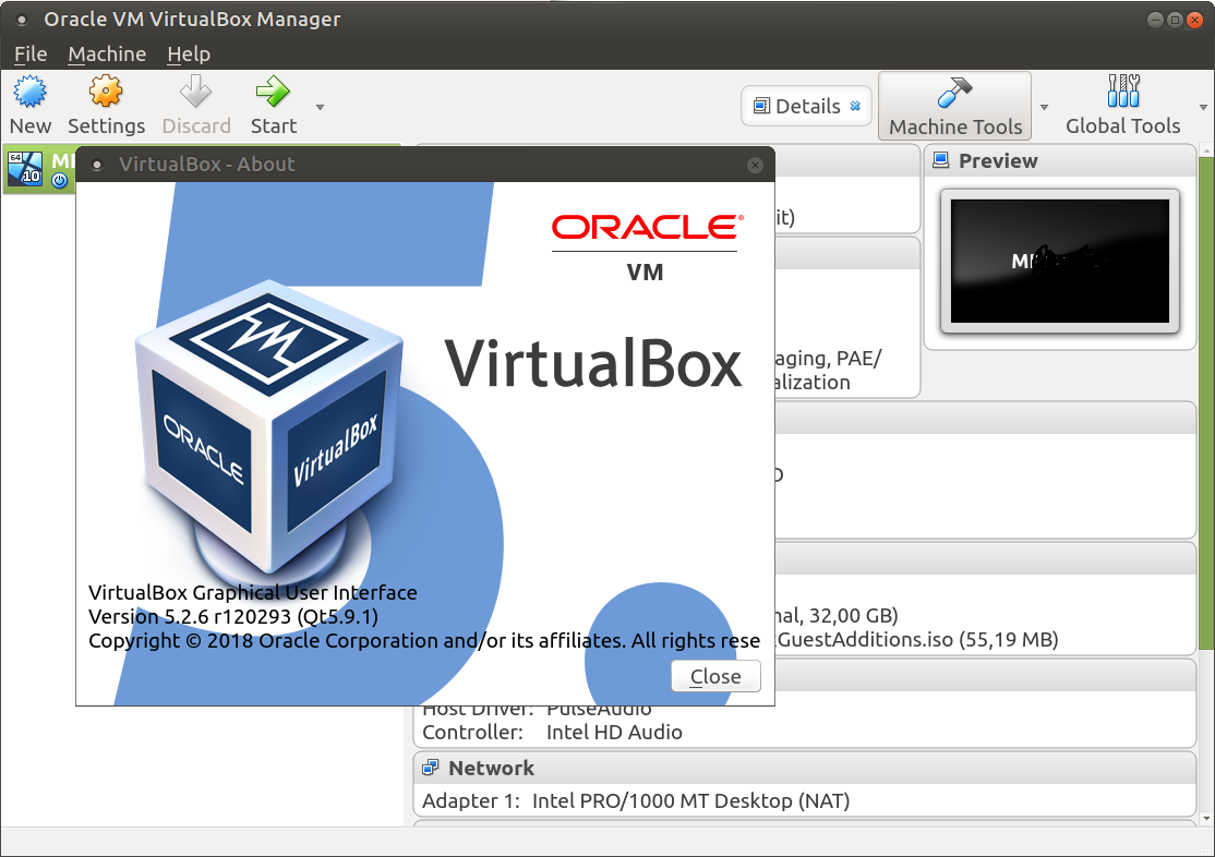 How to fix the VirtualBox 5 2 Qt theme (17 10+) - Tips