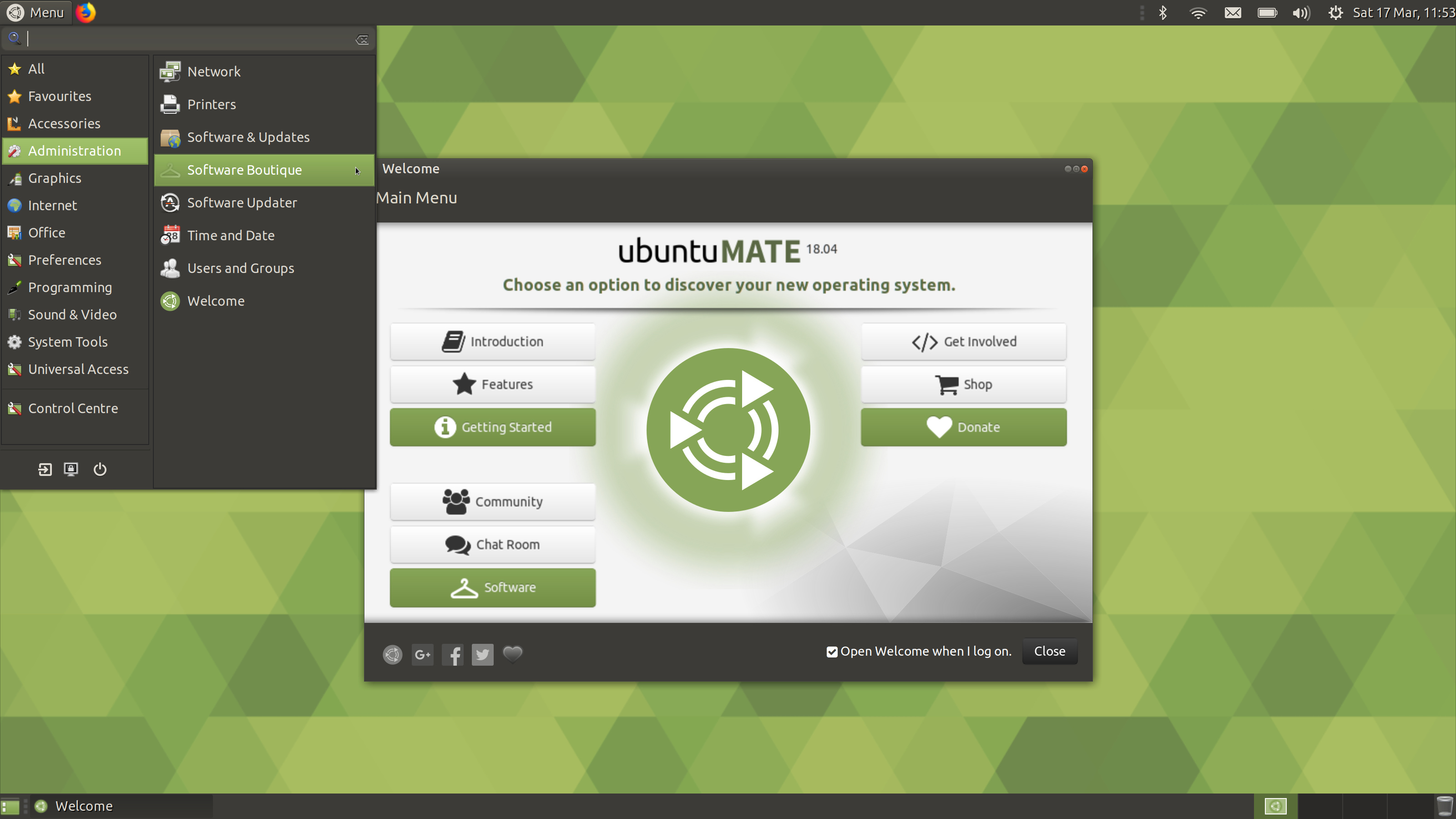 Familiar è il nuovo layout di default di Ubuntu MATE 18.04