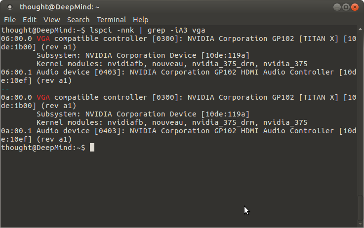 Installing two Nvidia Titan X Pascal GPUs in Ubuntu Mate - Support