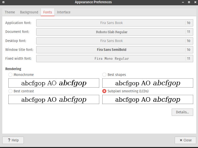 Default fonts for ubuntu-MATE - Development Discussion