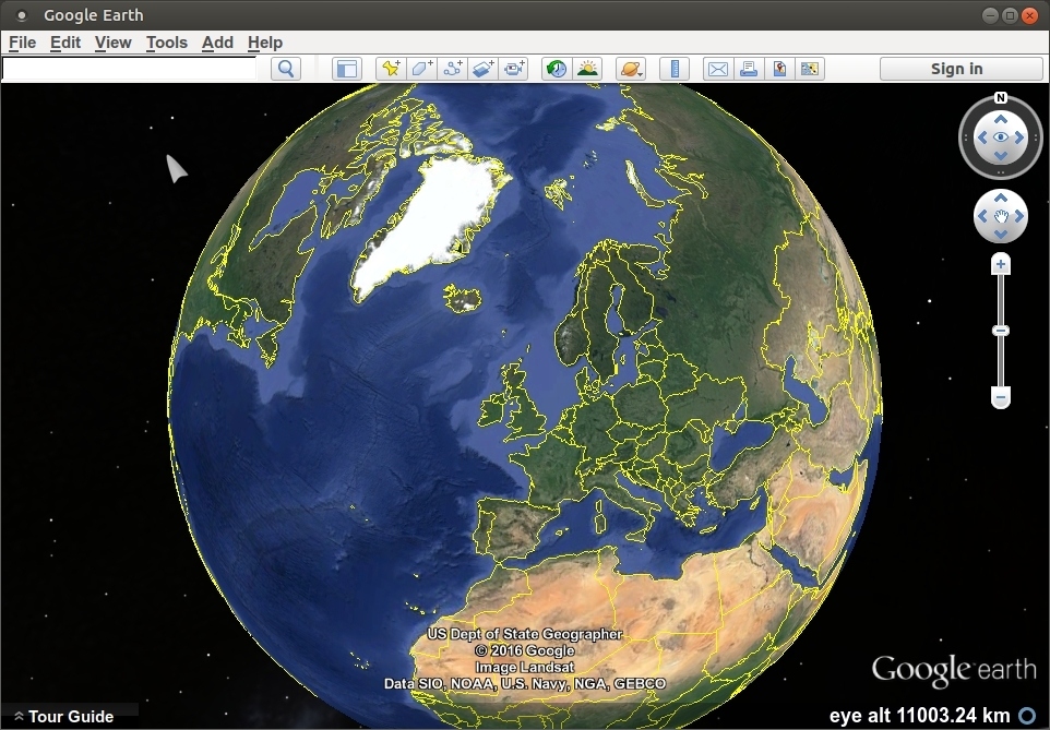 How to install google earth on ubuntu 1604 tried tested google earth002g962x669 385 kb gumiabroncs Choice Image