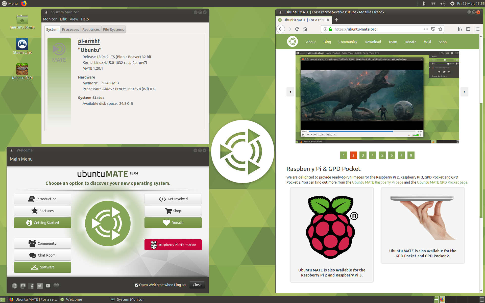Ubuntu MATE 18 04 Beta 1 for the Raspberry Pi is out