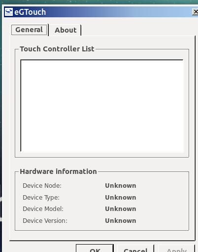 Touch screen calibration - Hardware - Ubuntu MATE Community