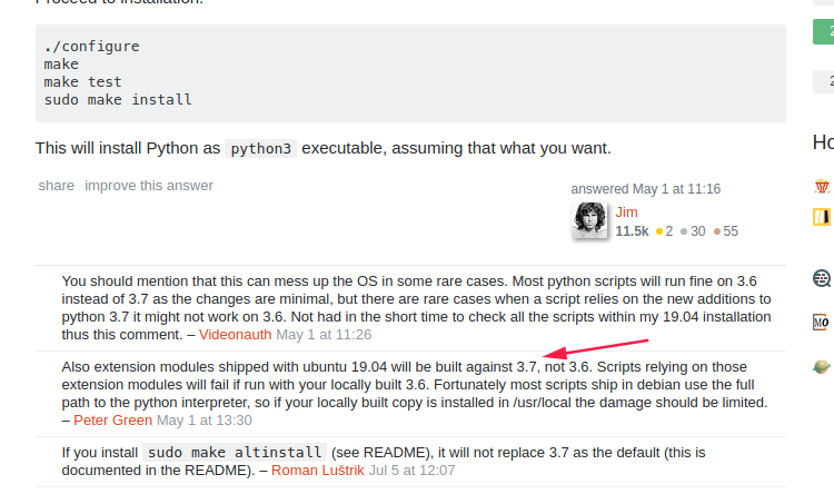How could I downgrade python 3 7 to 3 6 which bring with