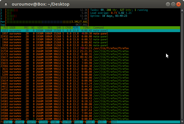 odbiti mišićav beskoristan  Possible memory leak in mate-panel? - Support & Help Requests - Ubuntu MATE  Community