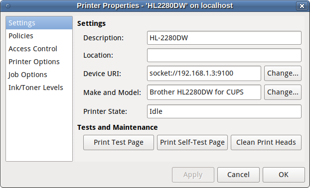 Simple-scan cannot see LAN Brother MFC-9840CDW - Hardware