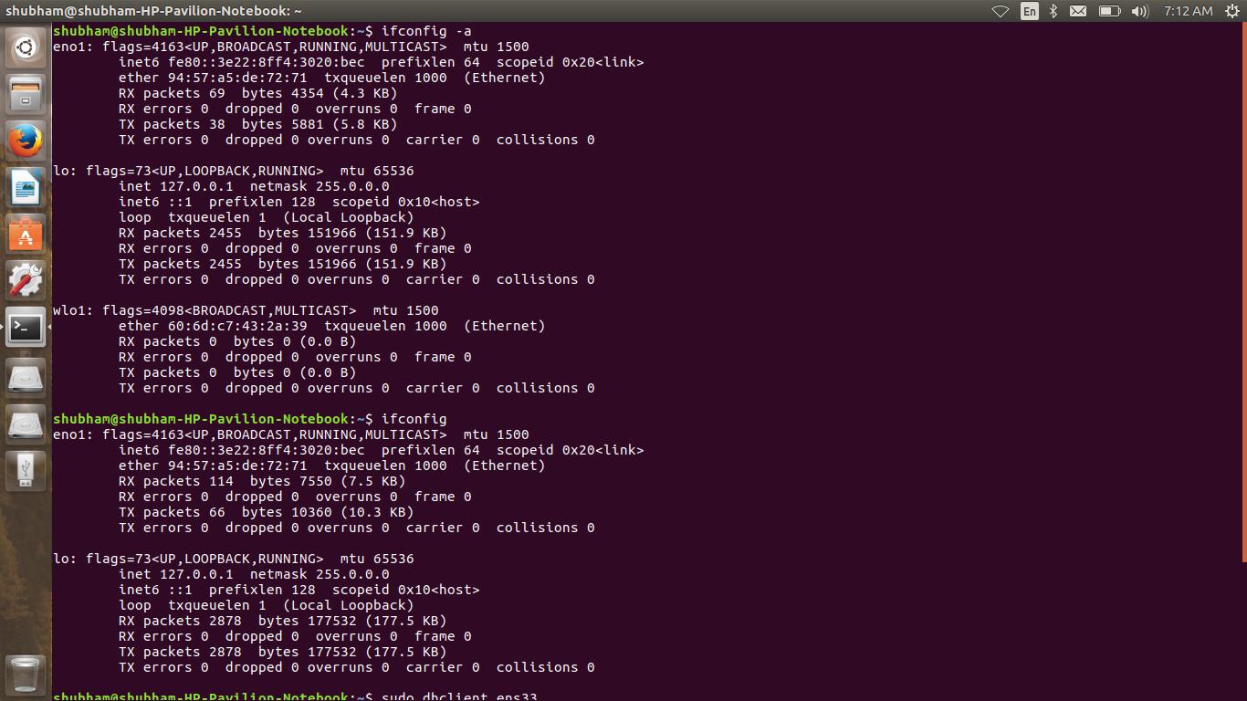 Ubuntu 16 10: ethernet connection problem? - Support & Help