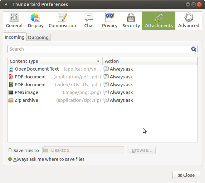 Mozilla (Firefox/Thunderbird) : default application used to