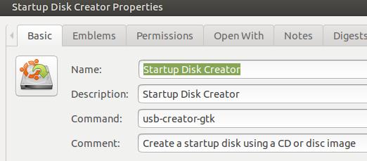 Startup-Disk-Creator-properties