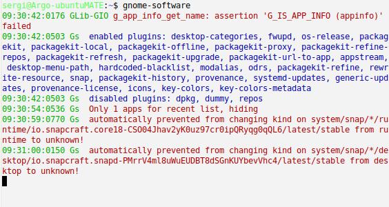 gnome-software_misbehavior